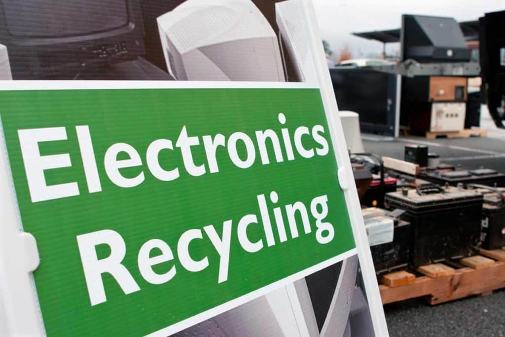 Elektronikschrott Recycling