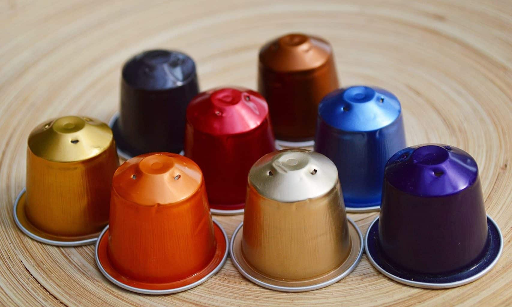 disposable coffee capsules