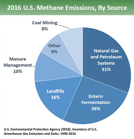 methane source landfills