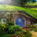 green eco house hobbits