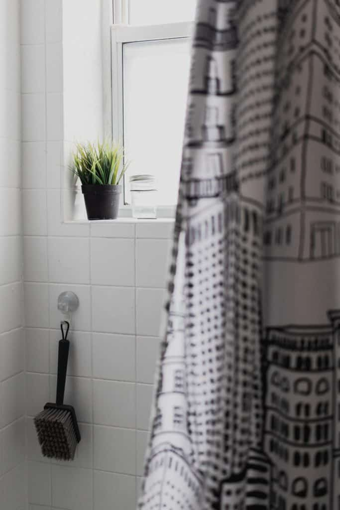 organic shower curtain pvc free