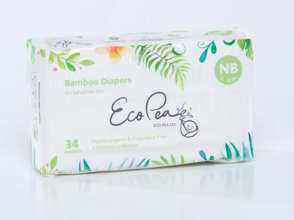eco pea co bamboo diapers
